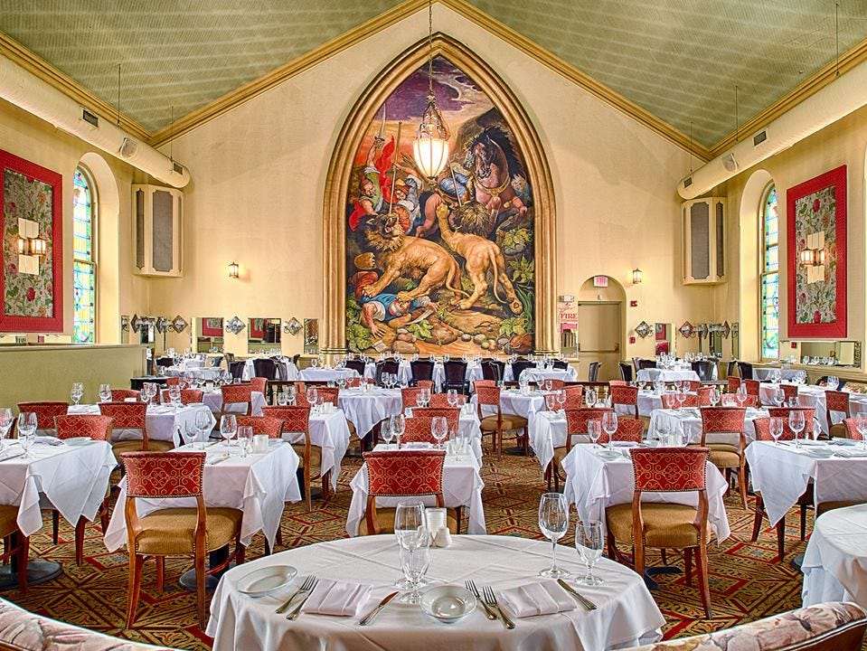 The dining room of Marsha Brown
