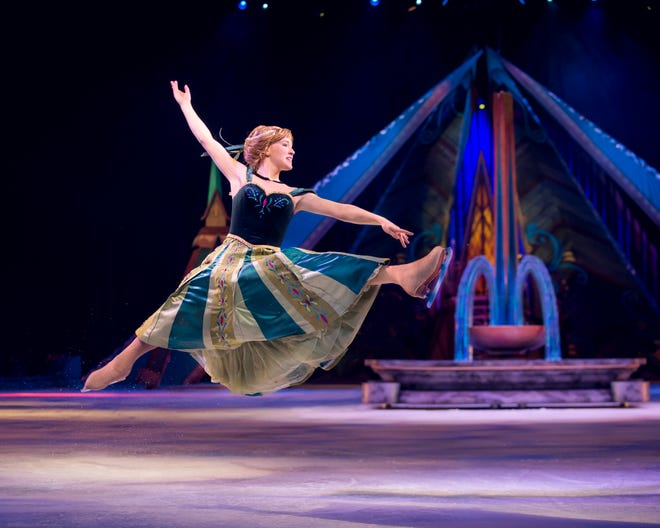 Disney on Ice: Frozen stops by the Ford Center Thursday through Sunday. Morgan Bell said she's grateful to get to portray Anna.