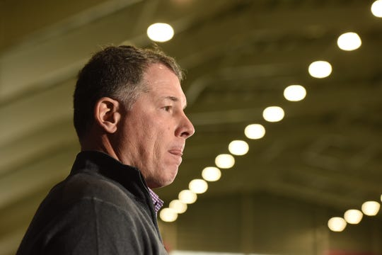 New York Giants Head Coach Pat Shurmur talks to the media on Monday, December 31, 2018 after the Giants finished their season 5-11.