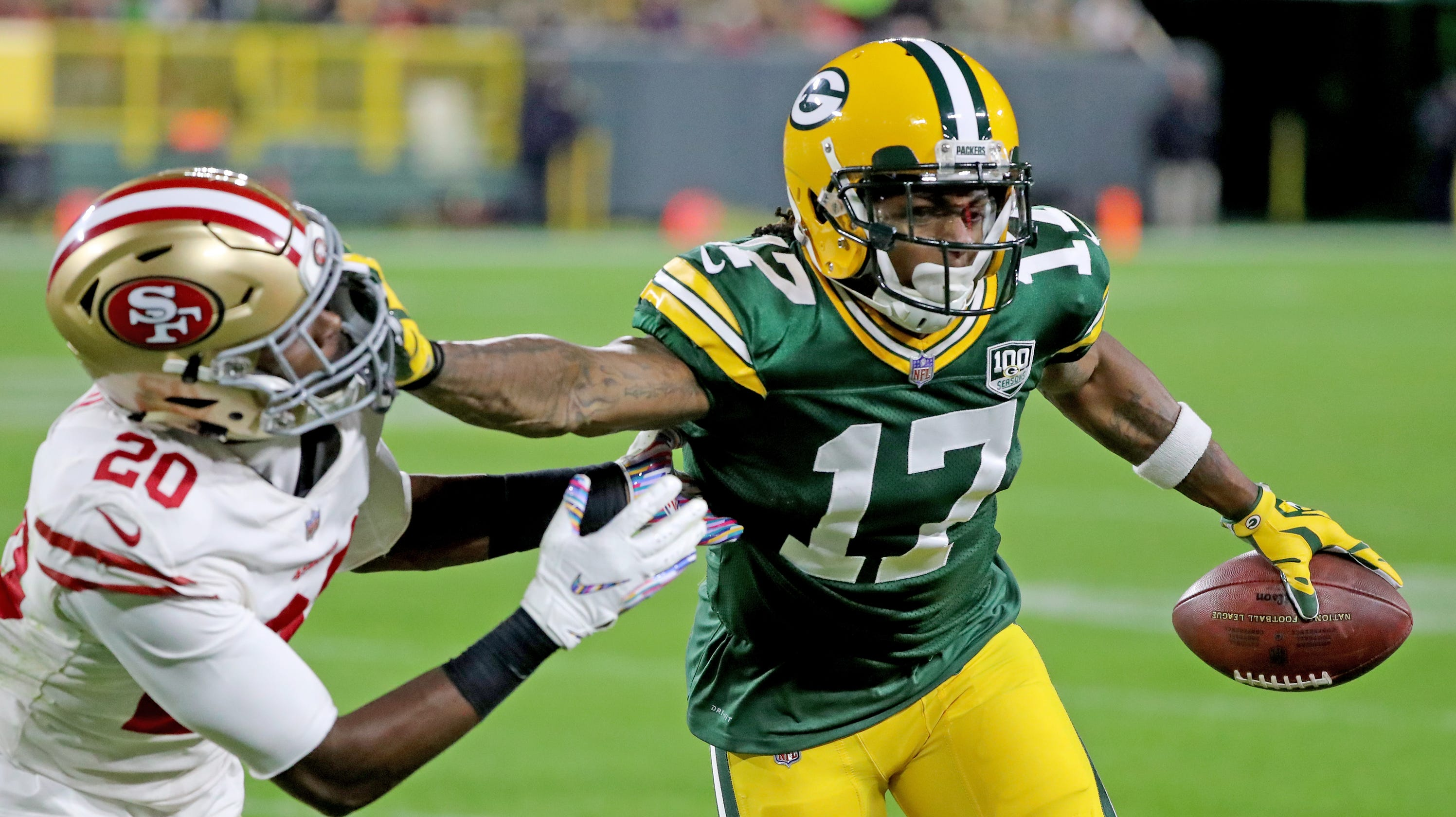 eaf4b21d2 Packers Morning Buzz  Could Davante Adams shift to slot receiver