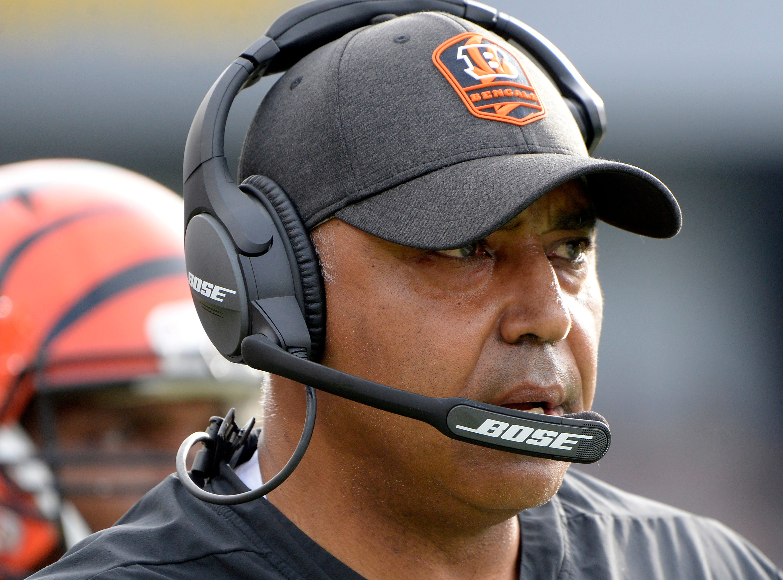Former Cincinnati Bengals head coach Marvin Lewis.