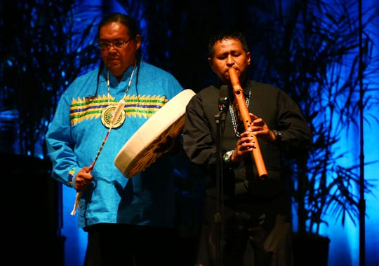 "Navajo flutist Jonah Littlesunday will play ""A New Dawn"" on Monday, Jan. 7, at the inauguration ceremony at the Arizona Capitol."