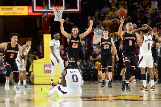 Ncaa Basketball Princeton At Arizona State