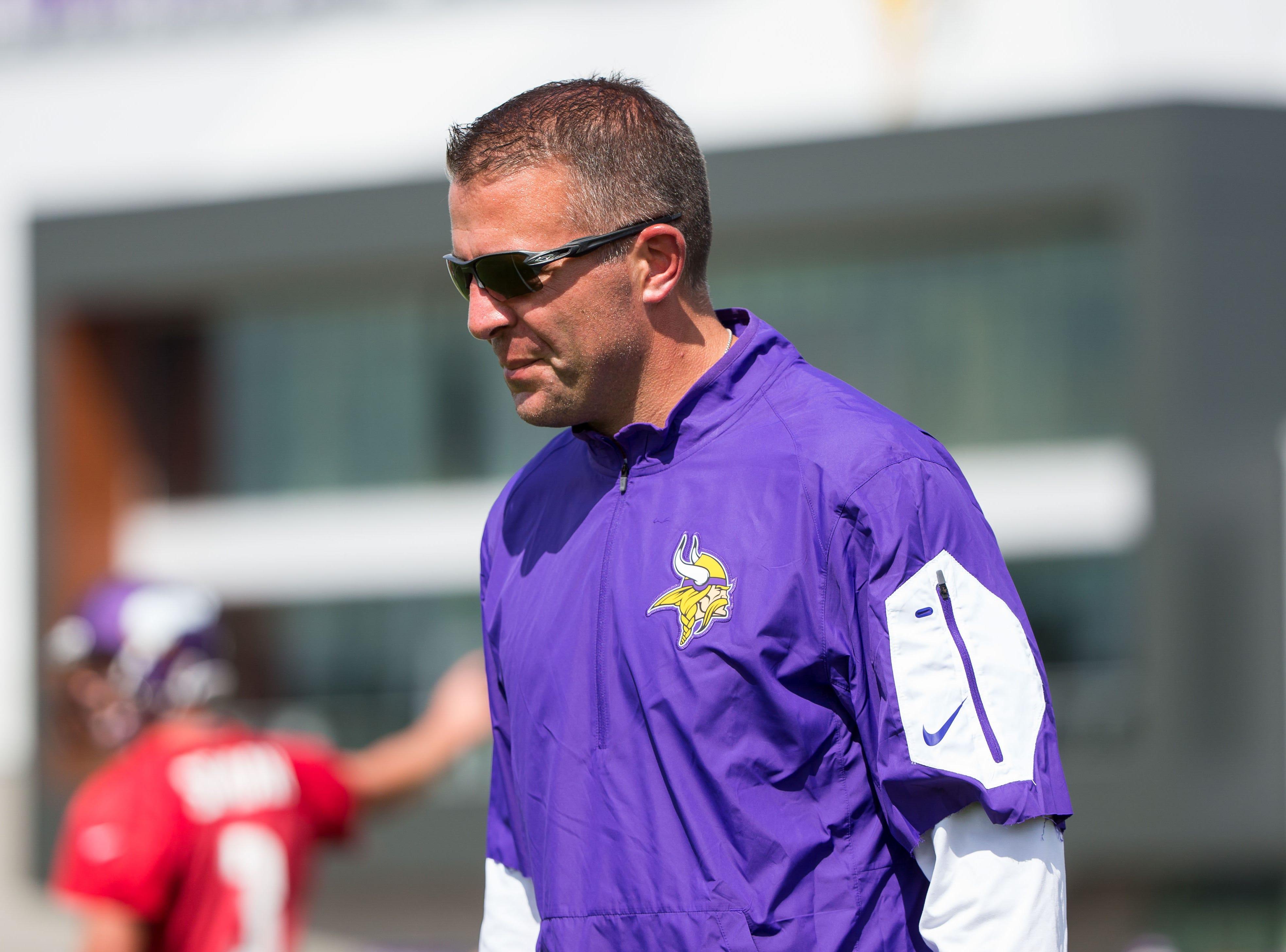 Former Minnesota Vikings offensive coordinator John DeFilippo.