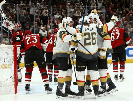 Latest loss shows Coyotes not yet ready for a rivalry with Golden Knights acfeebeab