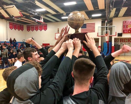 Arlington Boys Basketball Duane Davis Trophy