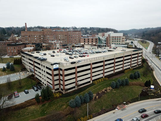 File photo of WellSpan York Hospital, Tuesday, December 31, 2018.