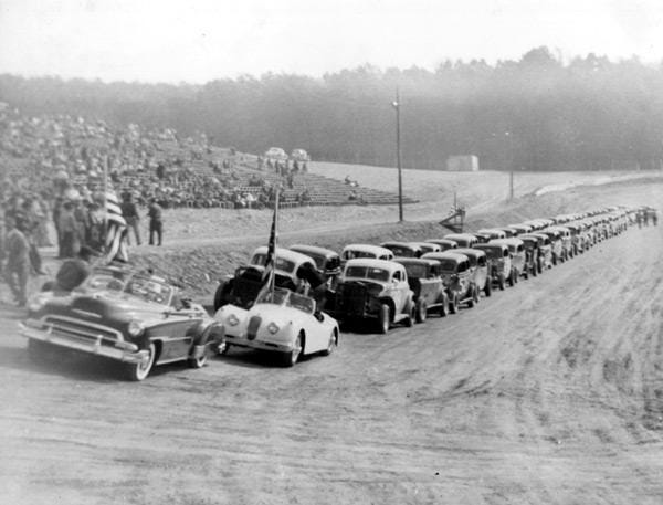 Bowling Green Speedway near Jefferson had a short but colorful history.