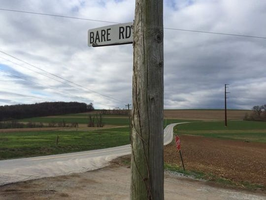 Furnace and Bare roads, Lower Chanceford Township, is where Aaron Wollman was found dead.