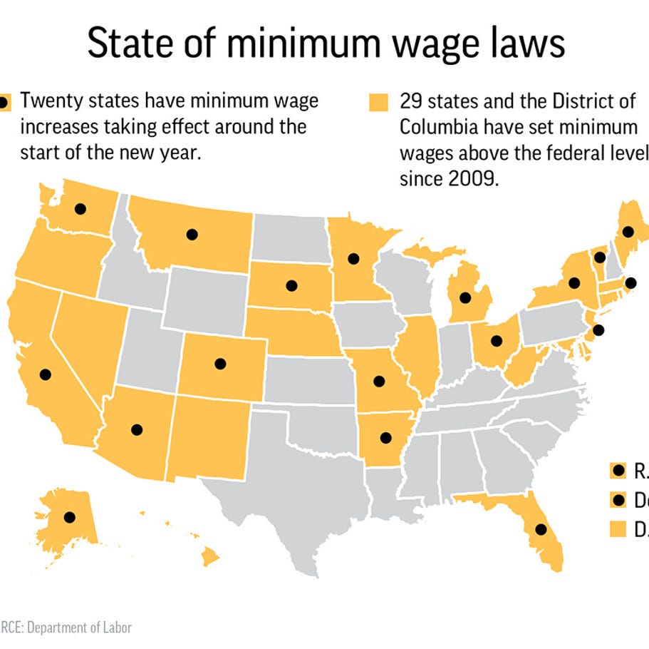 Millions of minimum wage workers will be getting a pay raise with the new year.