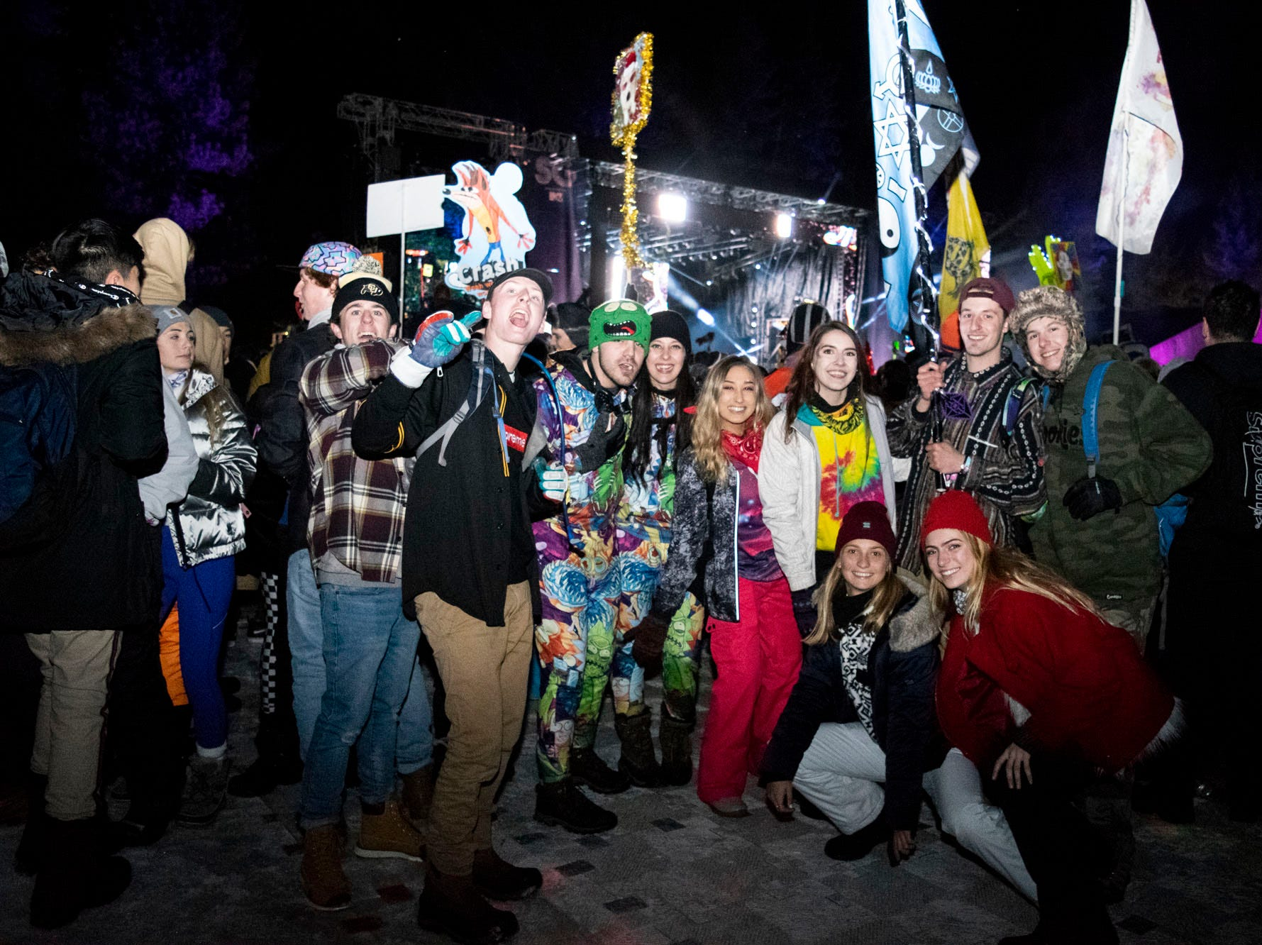 Scenes from the Snowglobe Music Festival on Saturday, Dec. 29, 2018. South Lake Tahoe, Calif.