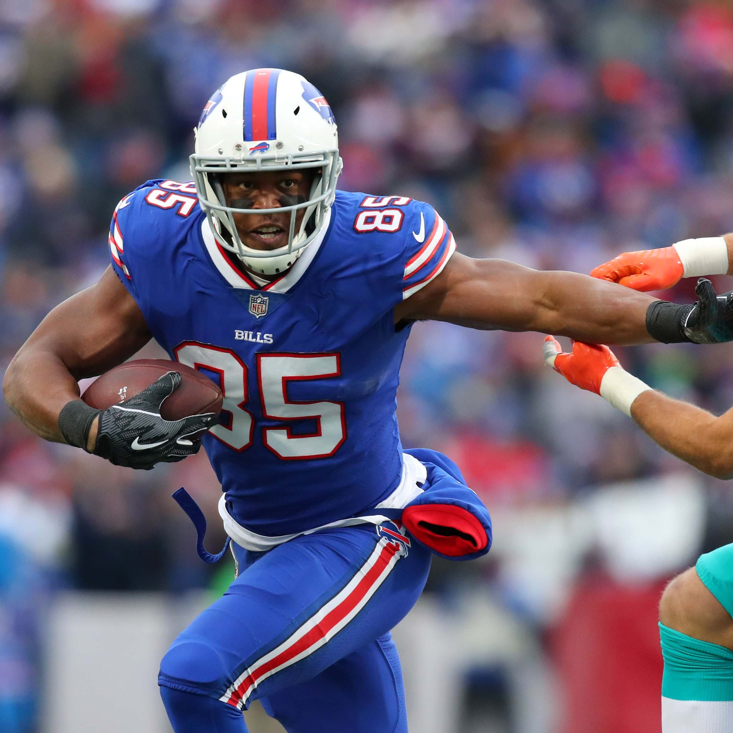 Charles Clay released by Buffalo Bills after tight end caught just 21 passes in 2018