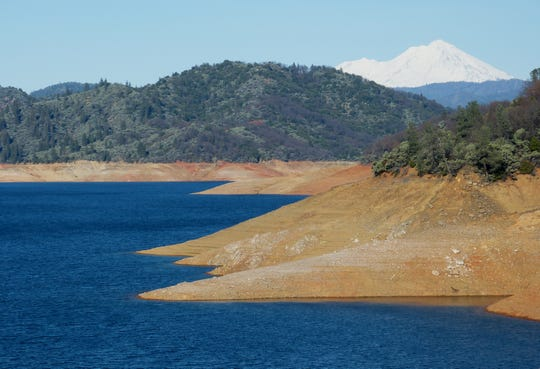 It's going to take a lot more rain to fill Lake Shasta for 2019.