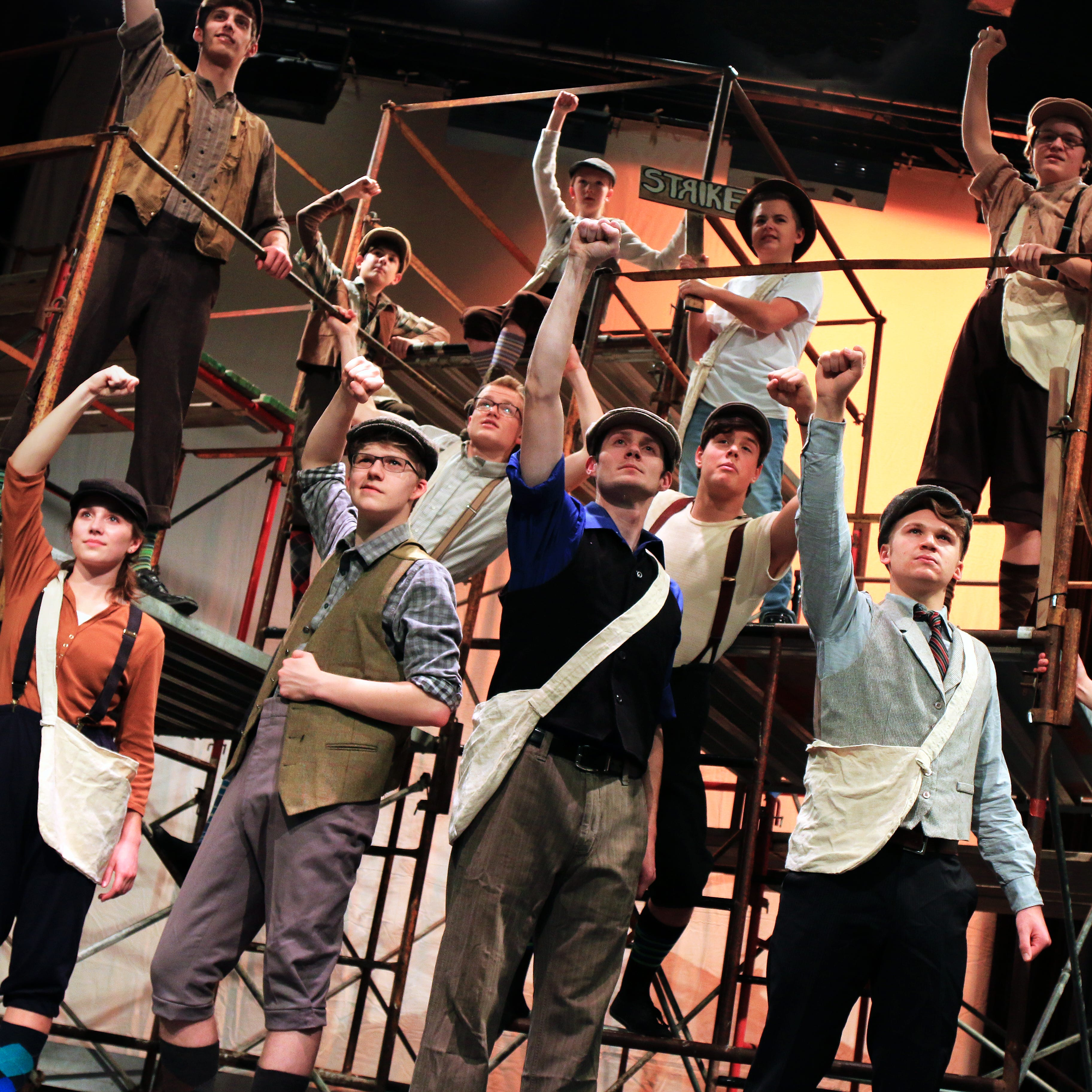 Read all about it! TYA to bring tony-winning musical 'Newsies' to Sheboygan