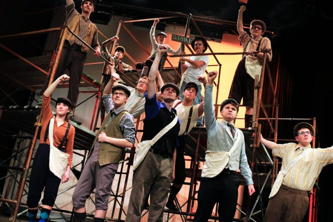 """Theater for Young Audiences will launch its 30th anniversary season with """"Newsies"""" in January."""