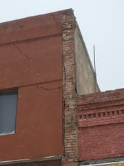 The cause of the damage to a downtown Pierre building is unknown. A structural engineer will conduct an assessment to determine the integrity of the building.