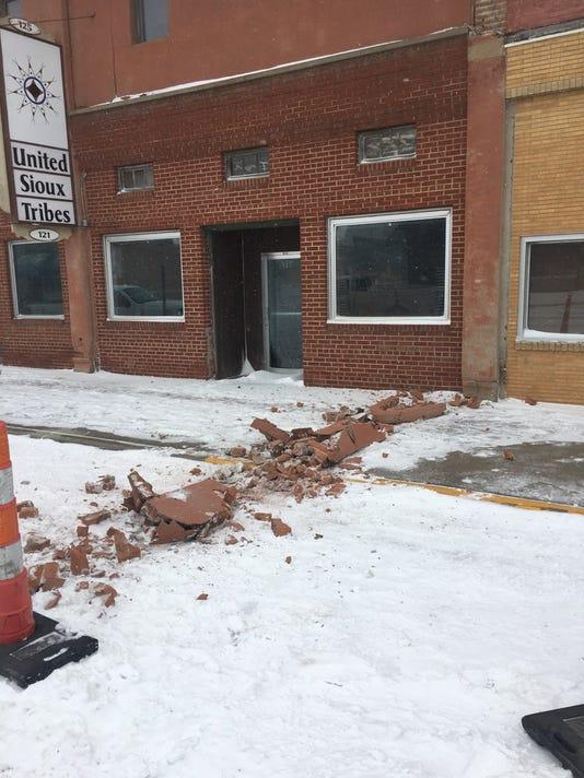 Pierre building damage