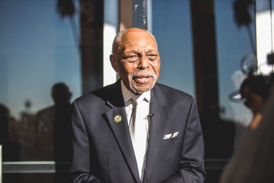 "FAMU alum the Rev. Cecil ""Chip"" Murray, pastor emeritus of First AME Church  in Los Angeles."