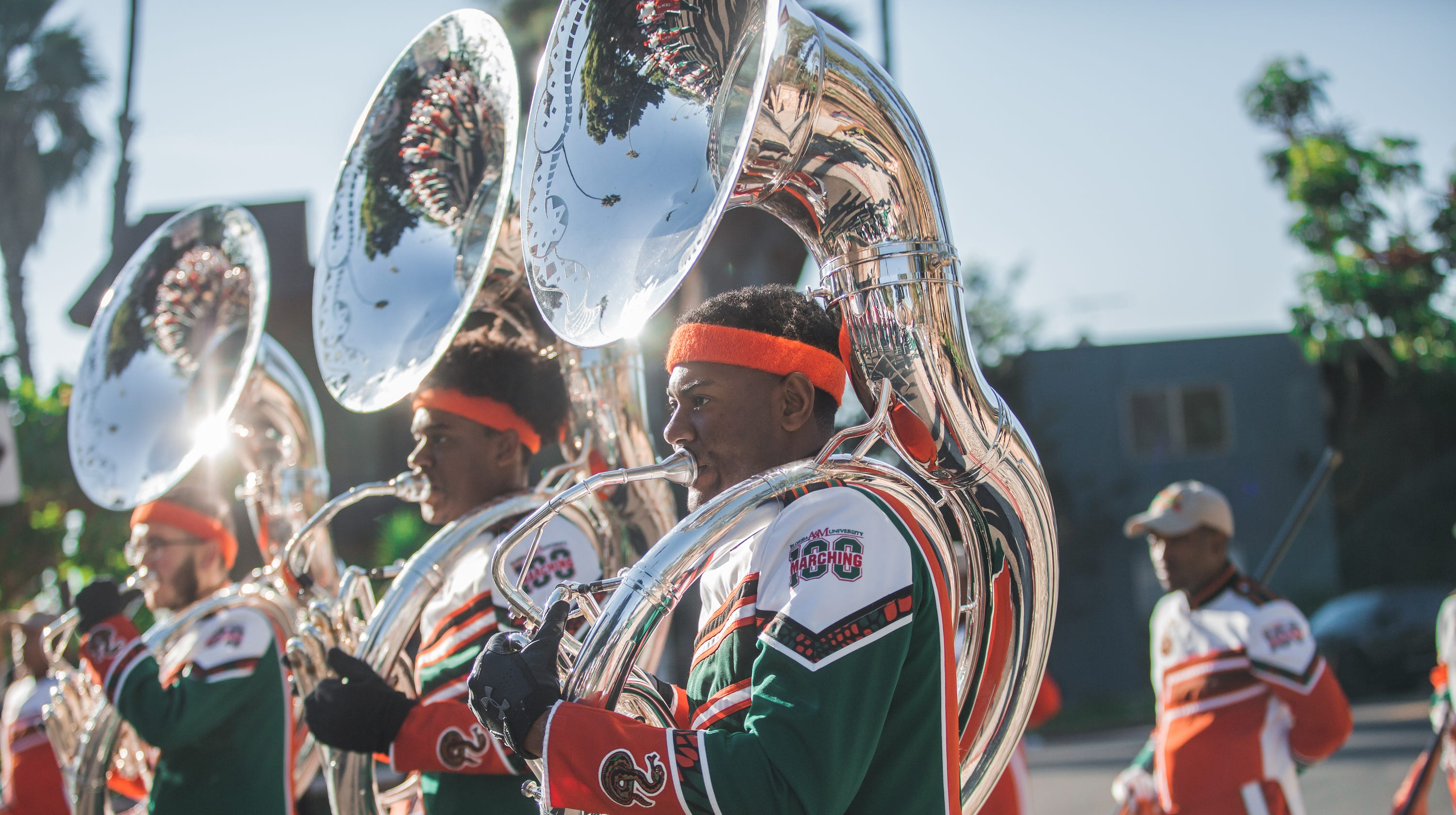FAMU Marching 100 rocks First AME Church in Los Angeles two days