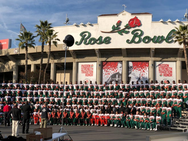 The FAMU Marching 100 will perform in the New Year's Tournament of Roses parade in Pasadena.