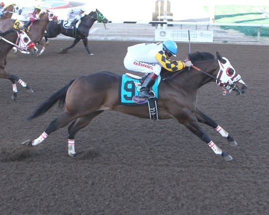Jessies First Down won the Grade 1, 440-yard The Championship at Sunland Park on Sunday.