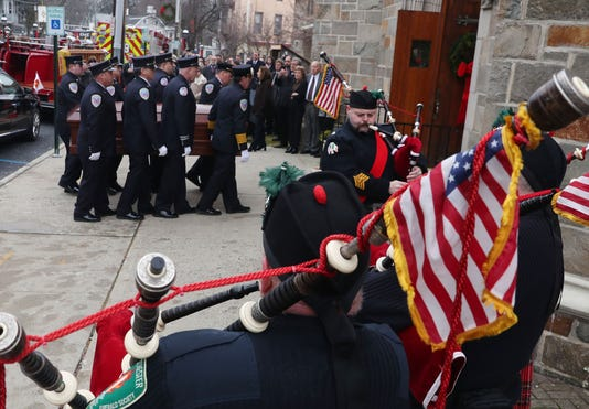 Croton Fire Chief Richard Nagle Funeral