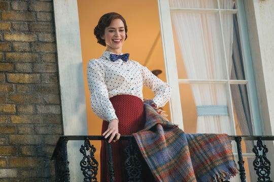 "Emily Blunt is a practically perfect Golden Globes nominee as the magical nanny of ""Mary Poppins Returns."""