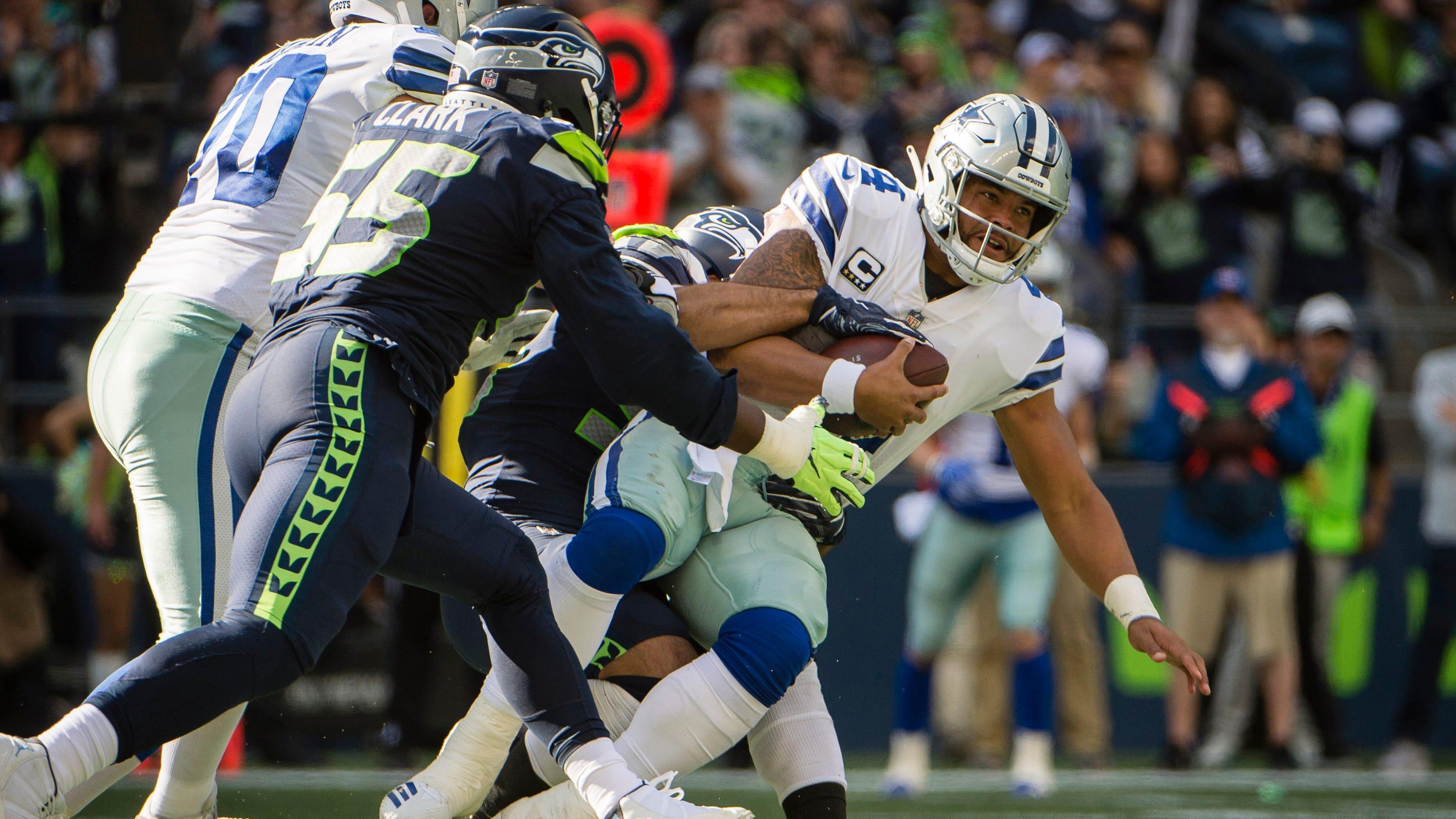 dbb616a73aac Seahawks vs. Cowboys wild-card preview  Will Dak Prescott deliver
