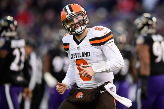 Nfl Cleveland Browns At Baltimore Ravens