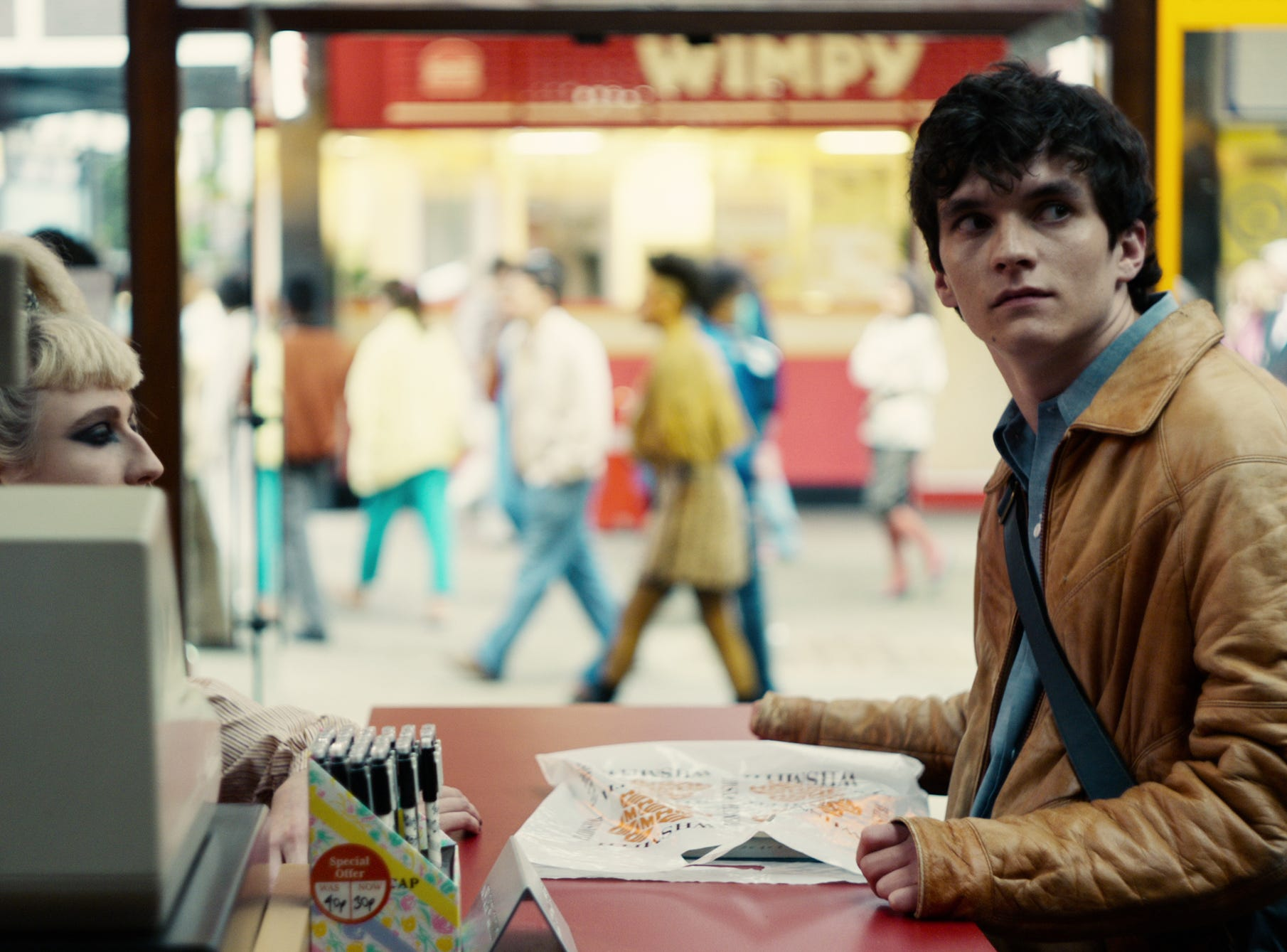 Fionn Whitehead in 'Black Mirror: Bandersnatch'