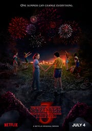 "The poster for ""Stranger Things"" Season 3."