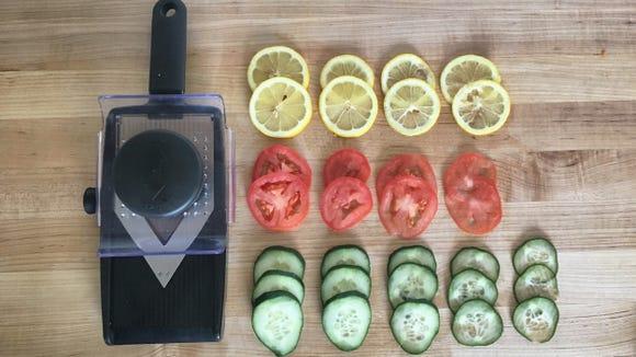 Slicing veggies has never been easier.