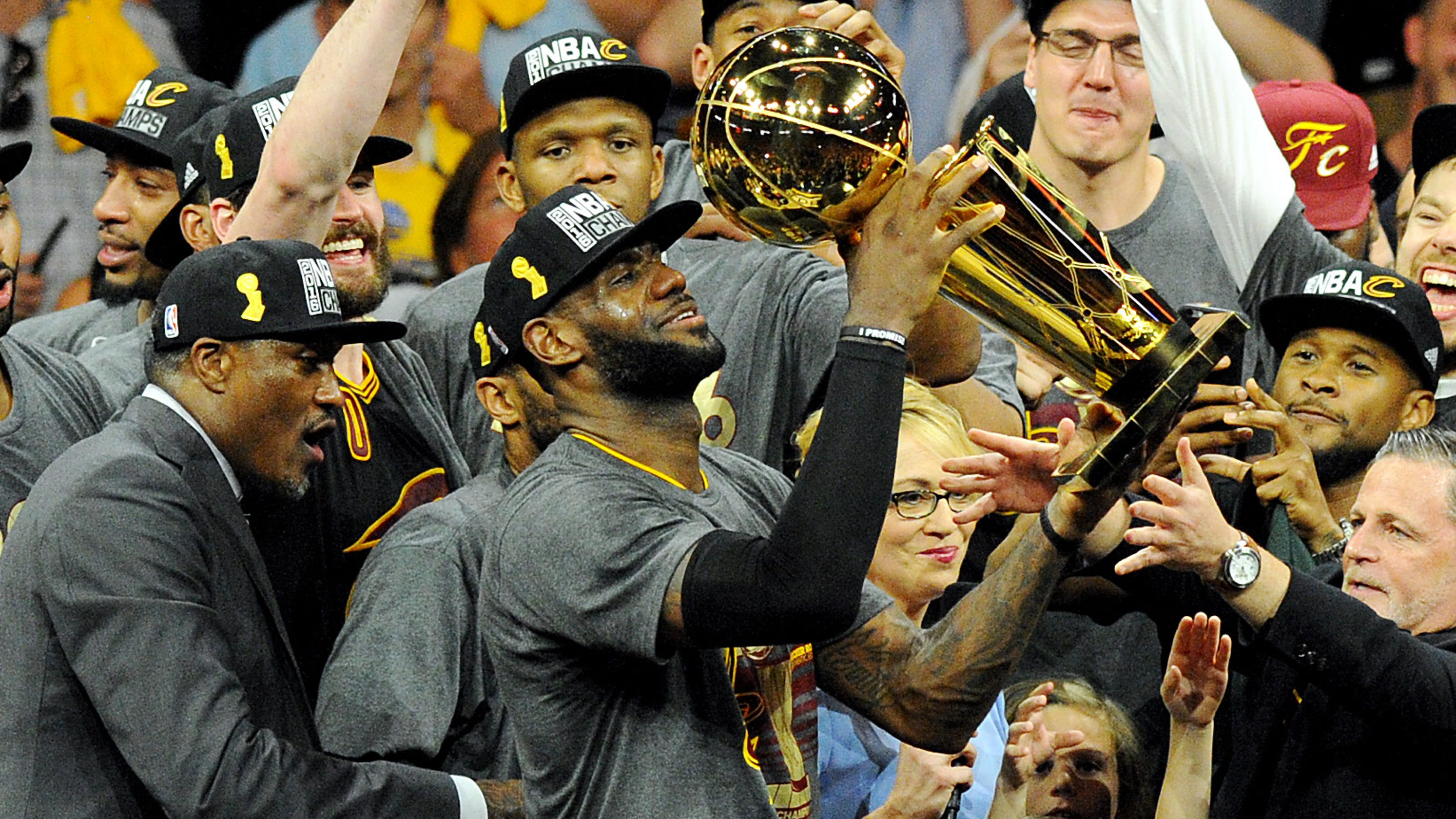 71dcfc1e6c09 LeBron James  Beating Warriors for 2016 title  made me the greatest player  of all time