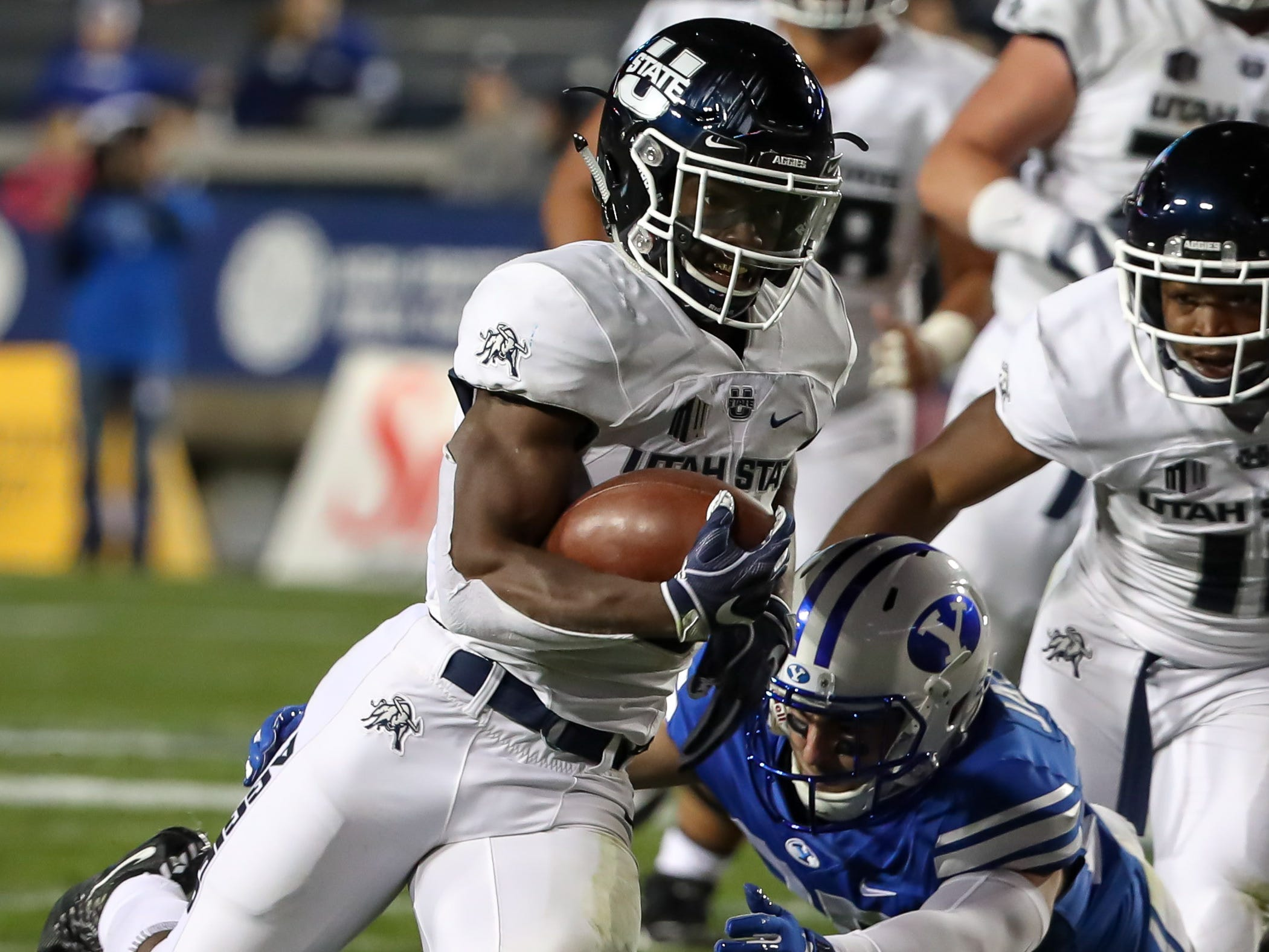 Darwin Thompson, RB, Utah State
