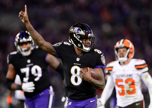huge discount 347e4 bf428 How Lamar Jackson became this good, this fast in the NFL