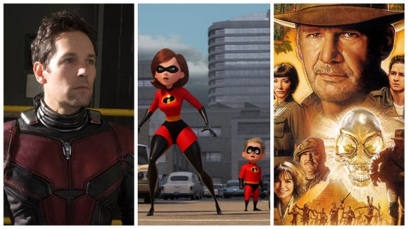 """Ant-Man and the Wasp,"" ""The Incredibles 2"" and ""Indiana Jones and the Kingdom of the Crystal Skull"" are among the new releases for families in January 2019 on Netflix."