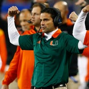 Manny Diaz replaces Mark Richt as Miami's head coach.