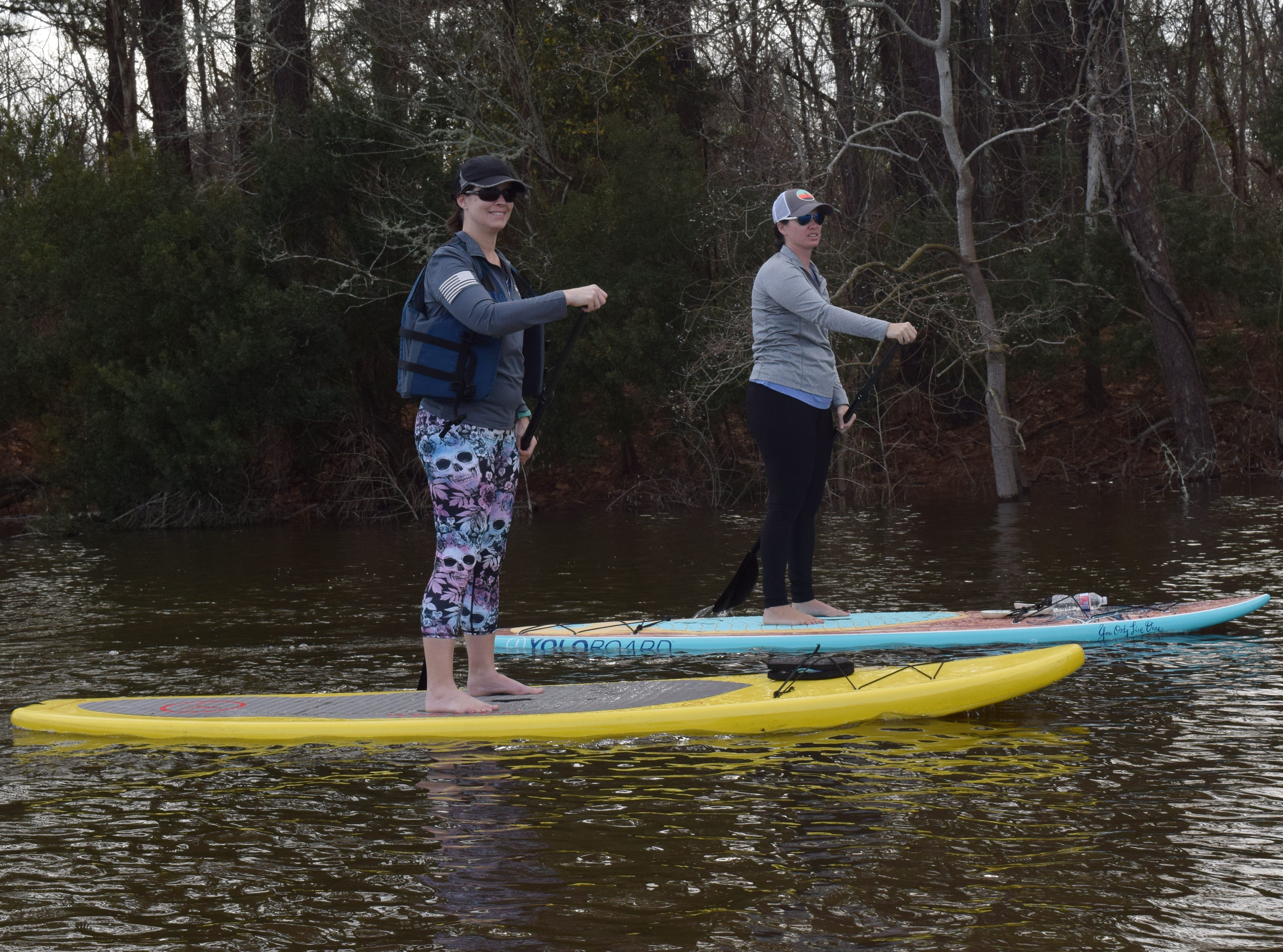 River Paddle Rentals held a New Years Day Paddle for experienced paddlers Tuesday, Jan. 1, 2019 at the Palmer Chapel Oxbow in Pineville. Karen Waight and her husband James Waight, owners of River Paddle Rentals and Karen's sister April Whitehead and Town Talk staff photographer paddled the oxbow for an hour. The temperature for Tuesday was 62 degrees. For more information about River Paddle Rentals and other events, visit their Facebook page.