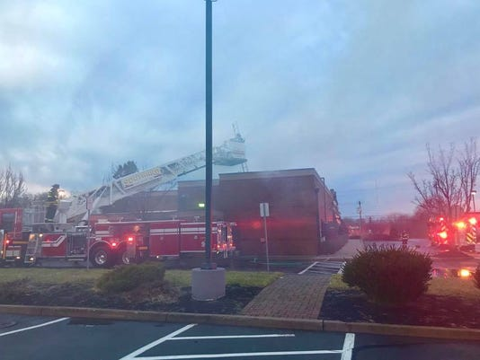 Applebees Fire