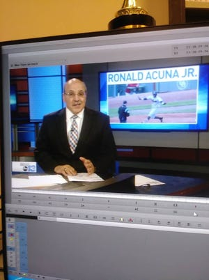Sportscaster Stan Pamfilis has been with WLOS-News 13 since 1988.