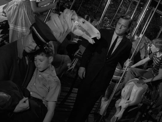 "The ""Twilight Zone"" episode ""Walking Distance"" was based on Rod Serling's youth in Binghamton."