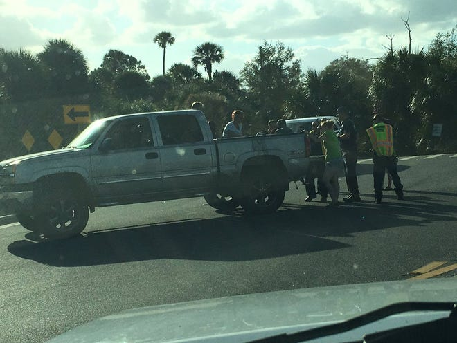 A 10-year-old child was injured in Port St. John after being run over by a truck.