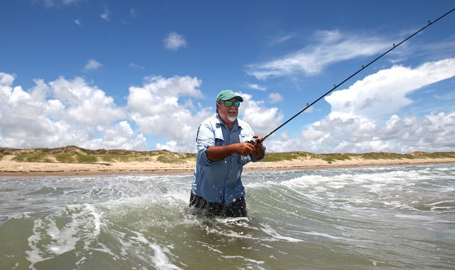 Surf fishing along Padre Island National Seashore was a popular story topic in summer.