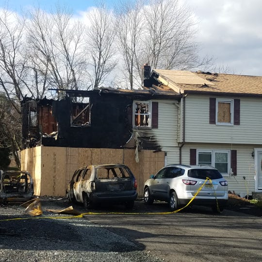 Patrick M. Hammond, 34, of Somerville has been charged with starting a fire at the Starview Drive home of his ex-girlfriend on Dec. 30.