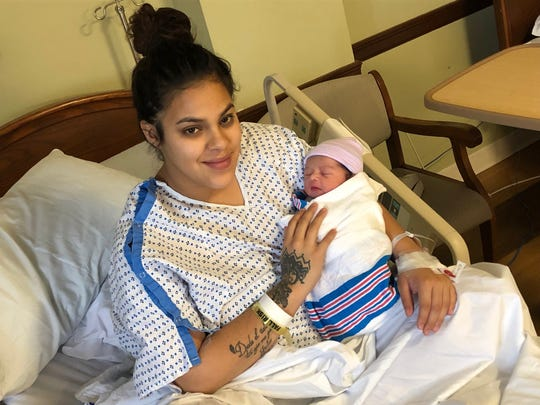 At JFK, a boy — Axel Garcia — was born at 2:30 a.m. to Martina Chavez and Carlos Garcia. Weighing 7 lbs 1 oz and 19 and one-half inches, Baby Axel has three siblings.