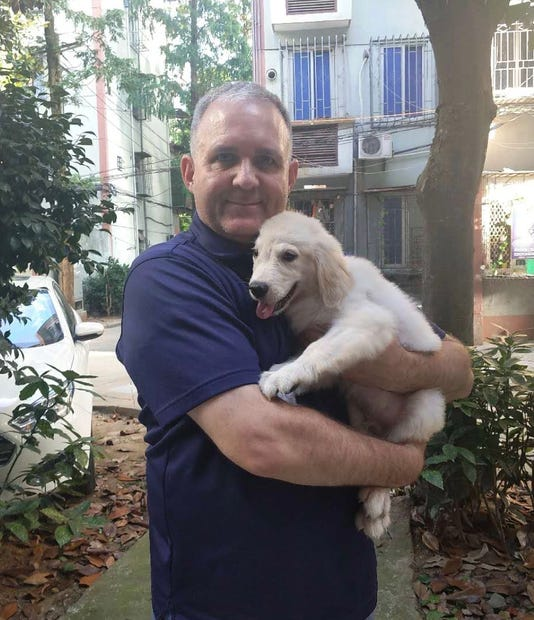 Paul With Dog