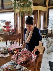 Darla Daily Smith loves baking cookies and individual goodies, and is looking forward to opening the front of her bakery as a place to stop for coffee and a pastry early in 2019.