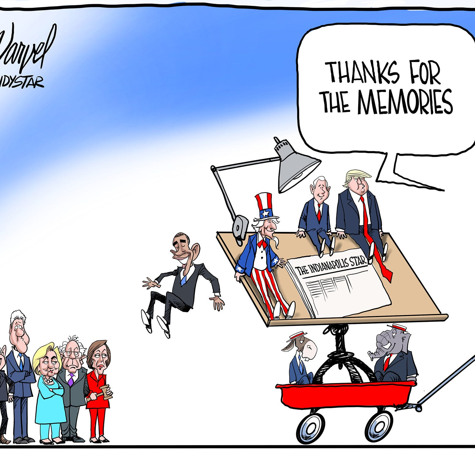 Varvel: IndyStar's cartoonist says thank you and farewell