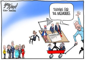 This is a look back at Gary Varvel's 24-year career as IndyStar's editorial cartoonist.