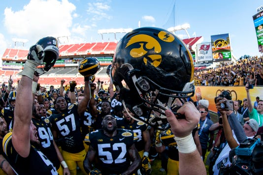 Ncaa Football Outback Bowl Mississippi State Vs Iowa